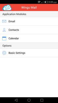 WinguMail App apk screenshot