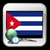 New TV guide Cuba time show icon