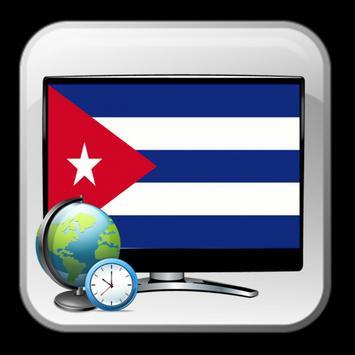 New TV guide Cuba time show poster