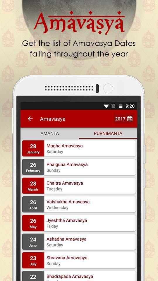 Hindu Calendar, Kundli Making and Kundali Matching for Android - APK