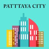Thailand Pattaya city icon