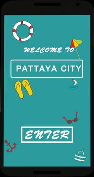 Thailand Pattaya city poster