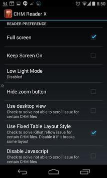 Chm Reader X apk screenshot