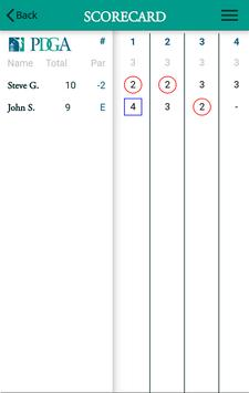 Disc Golf 2 - PDGA apk screenshot