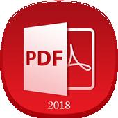 PDF Reader & PDF Viewer 2018 icon