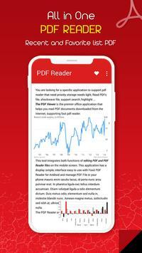 PDF Reader & PDF Viewer 2018 poster