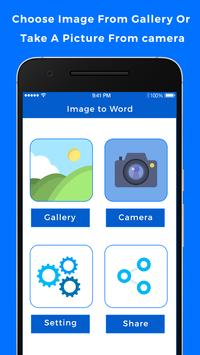 Image to Word Converter poster
