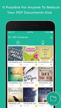 PDF Compress - Reduce file size screenshot 1