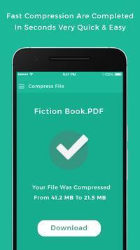 PDF Compress - Reduce file size screenshot 3