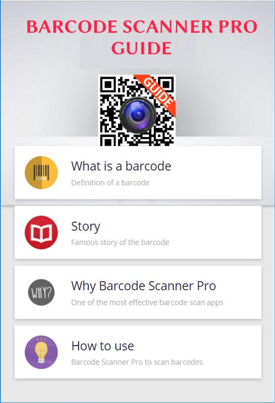 barcode scanner pro android