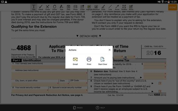 Irs 4868 Form For Android Apk Download