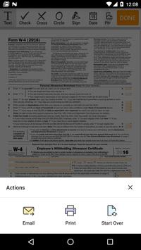 IRS Form W-4: Sign Income Tax eForm screenshot 2