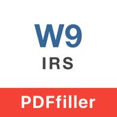 IRS W-9 form icon