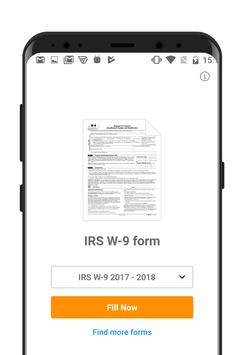 IRS W-9 form poster
