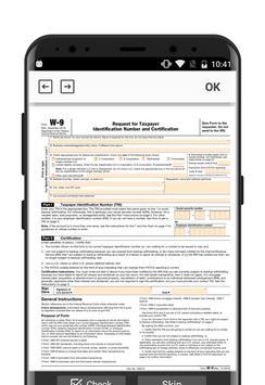 IRS W-9 form screenshot 1