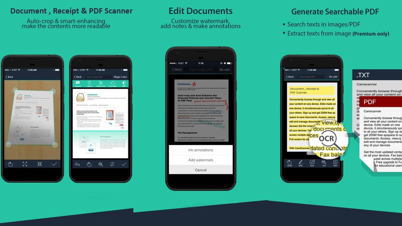 Scanner Pro :Document,Receipt&PDF Scanner with OCR for Android - APK