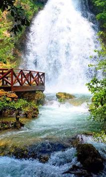 New Waterfall Wallpaper HD Poster