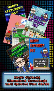Lecturer's Day Wishes apk screenshot