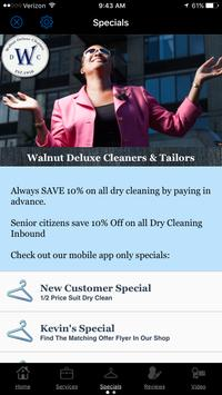 Walnut Deluxe Dry Cleaners & Tailors screenshot 1