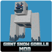 Giant Snow Gorilla MOD icon