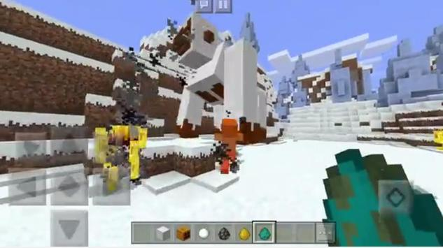Giant Snow Gorilla MOD apk screenshot