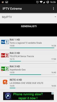 8 Schermata IPTV Extreme