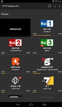9 Schermata IPTV Extreme