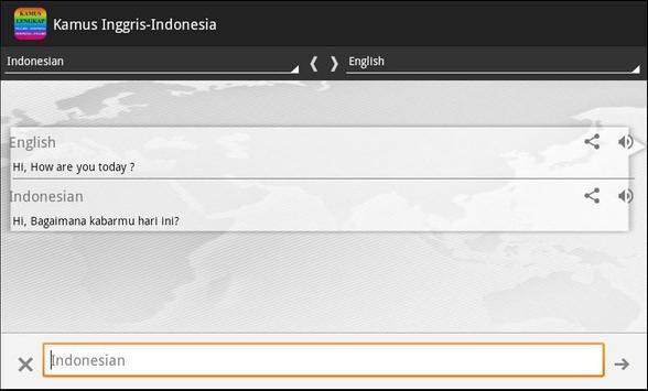 Kamus Lengkap Inggris Indo apk screenshot