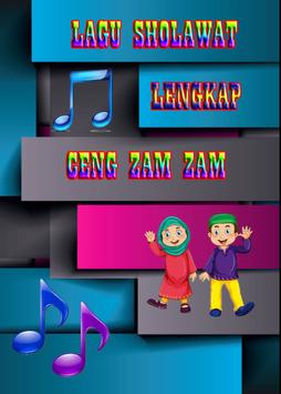 Sholawat Ceng Zam Zam Lengkap poster