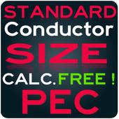PEC Conductor Size Calc FREE icon