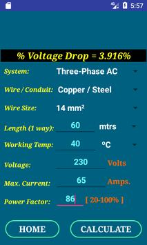 Pec conductor size calc free for android apk download pec conductor size calc free screenshot 4 greentooth Choice Image