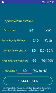 PEC Conductor Size Calc FREE screenshot 6