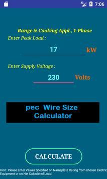 Online nec wire size calculator gallery wiring table and diagram pec wire size calculator free for android apk download pec wire size calculator free poster pec keyboard keysfo Gallery