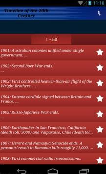 History of the 20th Century screenshot 1