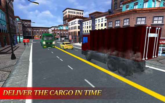 Cargo Truck simulator 2017 screenshot 1