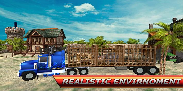 City Zoo Animal Transport screenshot 14