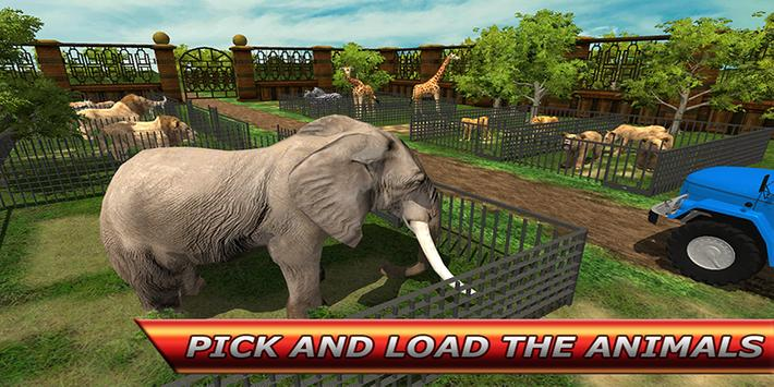 City Zoo Animal Transport screenshot 10