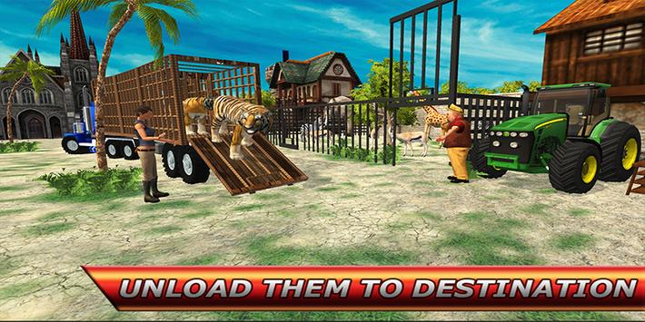City Zoo Animal Transport screenshot 12