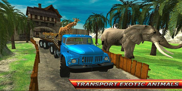City Zoo Animal Transport screenshot 13