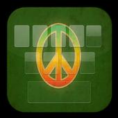 Keyboard Peace Reggae Rasta icon