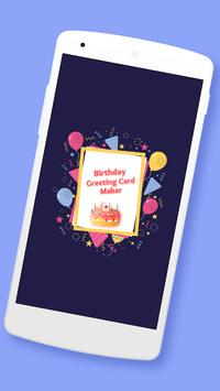 Birthday Greeting Cards Maker poster