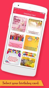 Birthday Greeting Cards Maker screenshot 1