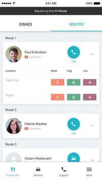 Peach Delivery App screenshot 4