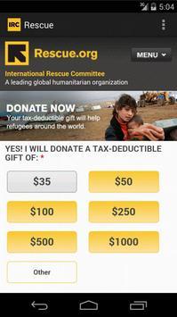 International Rescue Committee apk screenshot