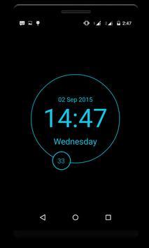 LED Digital Clock - minimal poster