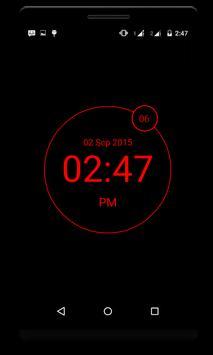 LED Digital Clock - minimal apk screenshot