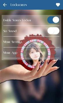 PIP Lock Screen Camera apk screenshot