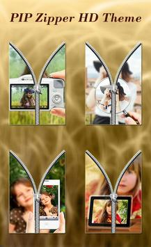 PIP Zipper Lock Screen HD poster