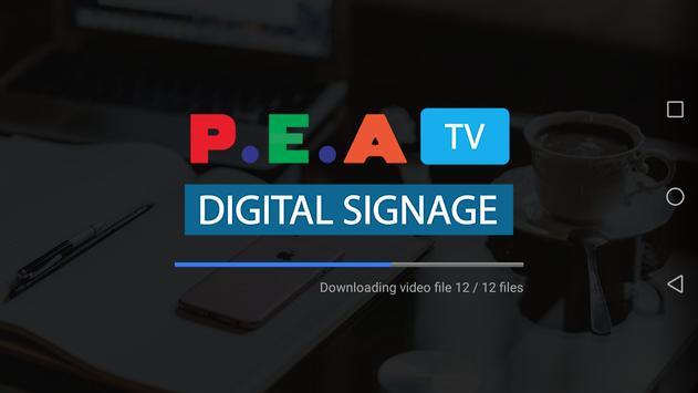 P.E.A TV screenshot 1