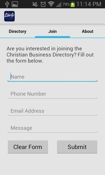 Christian Business Directory screenshot 3